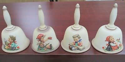 Hummel Annual Bells (4) 1978, 1979, 1980, 1981