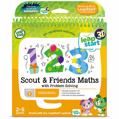 LEAPFROG Scout & Friends Maths Activity Book (3D Enhanced) Leap Start 460703