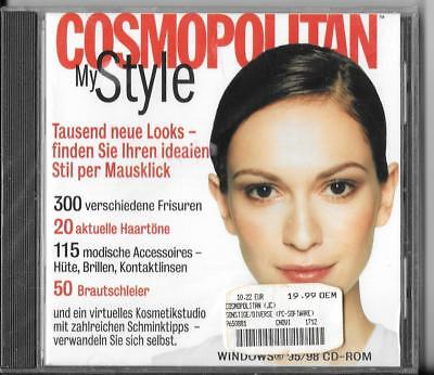 Cosmopolitan-My Style PC Software CD-ROM Windows 95/98/NT (1999/TLC) -NEU-