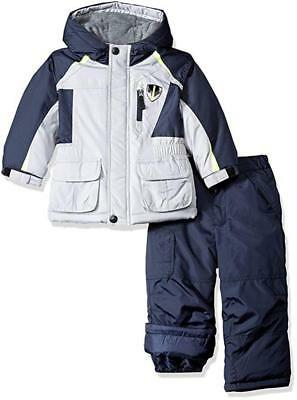 Carter/'s Boys Grey Camo Two-Piece Snowsuit Size 2T 3T 4T 4 5//6 7