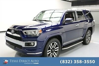 2018 Toyota 4Runner AWD Limited 4dr SUV Texas Direct Auto 2018 AWD Limited 4dr SUV Used 4L V6 24V Automatic 4WD SUV