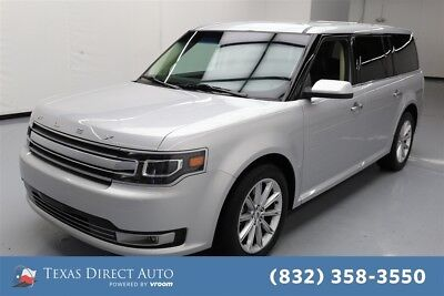 2017 Ford Flex Limited Texas Direct Auto 2017 Limited Used 3.5L V6 24V Automatic FWD SUV