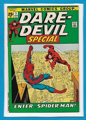 Daredevil King-Size Special #3_January 1972_Very Good_Spider-Man_Silver Age!