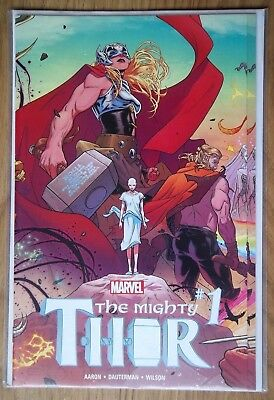 THE MIGHTY THOR #1  GATEFOLD COVER  MARVEL Comic 2016