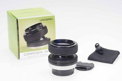 LensBaby Composer Pro w/Sweet 35 Optic for Original 4/3 Mount  #381