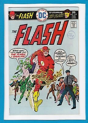 The Flash #239_February 1976_Very Fine+_Kid Flash_Pied Piper_Bronze Age Dc!