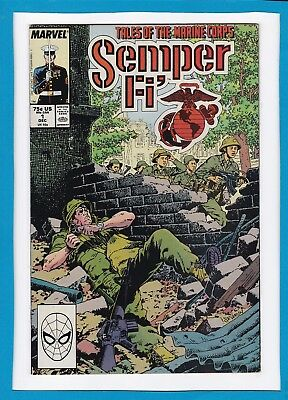 Semper Fi #1_December 1988_Very Fine/near Mint_Tales Of The Marine Corps!