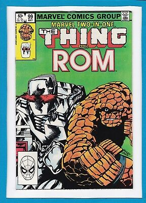 Marvel Two-In-One #99_May 1983_Near Mint Minus_The Thing_Rom_Fantasic Four!