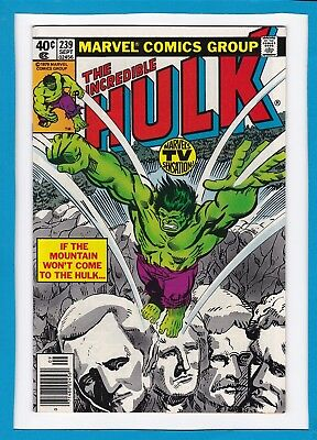 "Incredible Hulk #239_September 1979_Very Fine+_Goldbug_""all That Glitters""!"