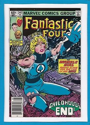 Fantastic Four #245_August 1982_Very Fine_Invisible Girl_Bronze Age Marvel!