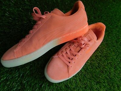 a12653e5830 PUMA SUEDE EMBOSS Iced Fluo Fade Men s Shoes Size 9.5 -  47.10 ...