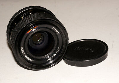 Nice Rollei-HFT Distagon LENS 35 mm 2.8 Rollei mount Made in Singapore SHARP!