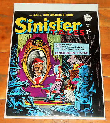 "SINISTER TALES no.17 Alan Class 1962 rare STEVE DITKO ""Forbidden Room"" 5 stories"