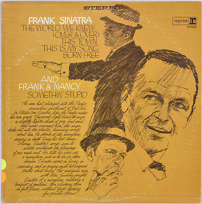 Frank Sinatra The World We Knew Album Cover W/ Vinyl Un-signed
