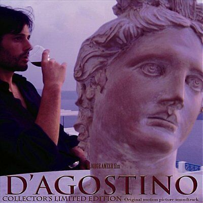 Various Artists-D`AGOSTINO - a Jorge Ameer film -  AUTOGRAPHED COLL VINYL LP NEW
