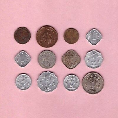 India & Pakistan - Coin Collection - Lot # X-25 - World/Foreign - Revised 11-10