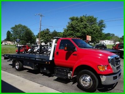 2015 Ford F65O Flatbed/rollback, Southern Truck, Like New!!!