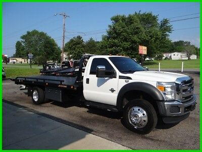 2015 Ford F550 Flatbed/rollback, Super Nice!!!