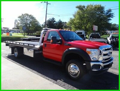 2016 Ford F550 Flatbed/rollback, 1 Owner Southern Truck!