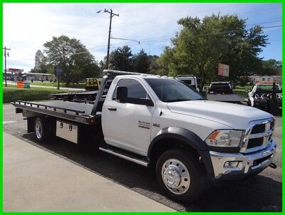 2016 Ram 5500 Flatbed/rollback, 1 Owner, Like New!