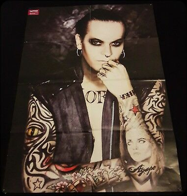 XXL Poster Chris Harms; Lord of The Lost; Sonic Seducer