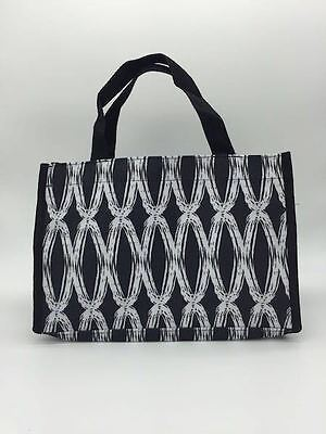 Thirty one Bag mini tote 31 all in one organizer gift retired black links bag d