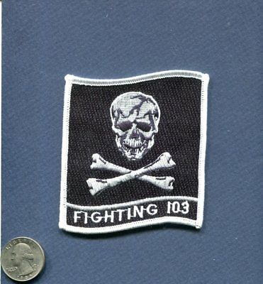Original VFA-103 JOLLY ROGERS BOEING F-18 HORNET US Navy Fighter Squadron Patch