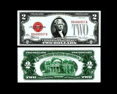 1928F  $2 Red Seal United States Note~~ UNCIRCULATED