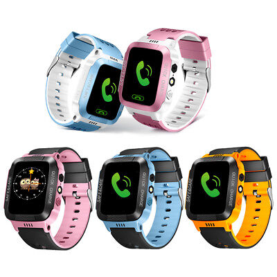 Kids Anti-lost GPS Tracker Smart Watch SOS Call Safe Wristwatch For Android&IOS
