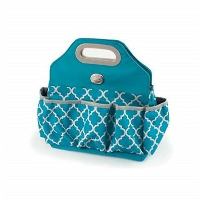 We R Memory Keepers Storage Tote Bag, Aqua - Crafters Bag Bag135x13x55