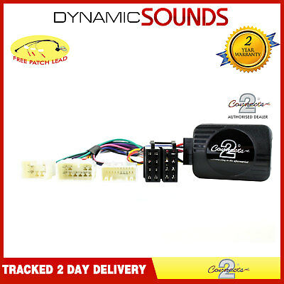 Steering Wheel Stalk Interface Adaptor For TOYOTA / Lexus with FREE Patch Lead