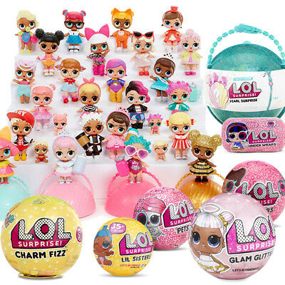 MGA L.O.L. lol Surprise Ball FIZZ Pearl Doll Glam Glitter Lil Sister Pets NEW FR