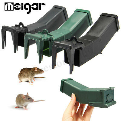 2x Reusable Humane Mouse Trap Rodent Mice Live Catch Cage Safe Auto Control