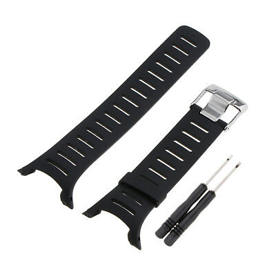 Silicone Strap Band for SUUNTO T Series T1 T1C T3 T3C T3D T4C T4D Watchmaker