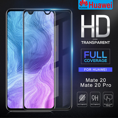 3D Curved Tempered Glass Screen Protector For Huawei Mate 20/ 20 Pro/ 20 Lite