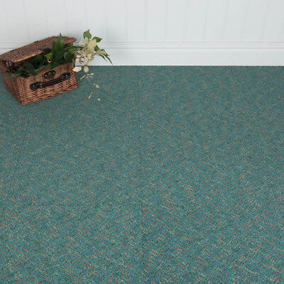16 x Tessera Carpet Tiles - Jazz Tones Design - Georgia Green - 4m2