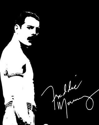 REPRINT - FREDDIE MERCURY Queen Autographed Signed 8 x 10 Photo Poster