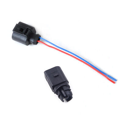 Ambient air temperature sensor & 2 Pin Connector Plug Wiring Harness for Audi VW