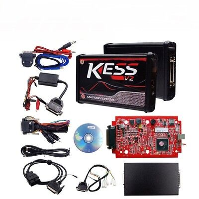 Red Car KESS V2 V5.017 ECU Tuning Full Kit Tool EU Master Online No Token Limit