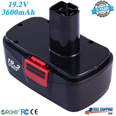 Replace for Craftsman 19.2V 3.6Ah Battery Diehard C3 19.2 Volt 315.115410 11375