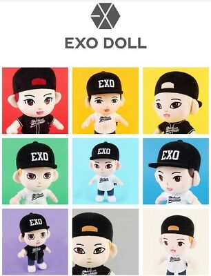 Official Exo Md - Exo Plush Doll - Pre-Order Authentic Goods