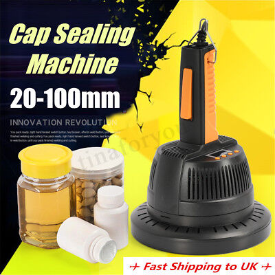 20-100mm  Handheld Induction Sealer Bottle Cap Sealing Machine 220V 800-1200W