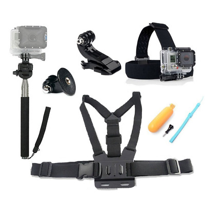 Fahion-Eshop 4 in1 Ultimate GoPro Accessories Pack Head & Chest Strap &...