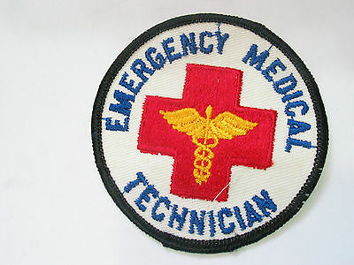 Emergency Medical Technician Patch (2441)