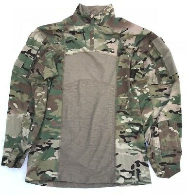 US Army OCP Multicam ACS Massif Type II Tactical Outdoor ISAF Combat shirt Large