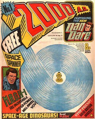 2000AD ft JUDGE DREDD - THE COMPLETE COMIC COLLECTION - 1977 to Present  - VGC