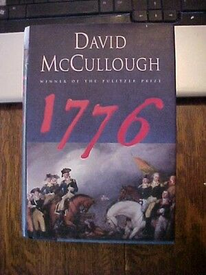 2005 FEFP Book 1776 by David McCullough  BIRTH REVOLUTIONARY WAR WON Pulitzer