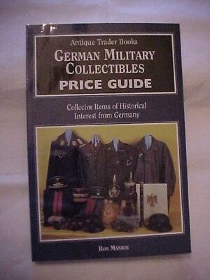1995 PB Book GERMAN MILITARY COLLECTIBLES PRICE GUIDE by RON MANION; WWII