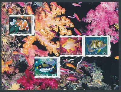 AUSTRALIA: 2010 FISH Composite Minisheet only available from PO Year Album. MUH