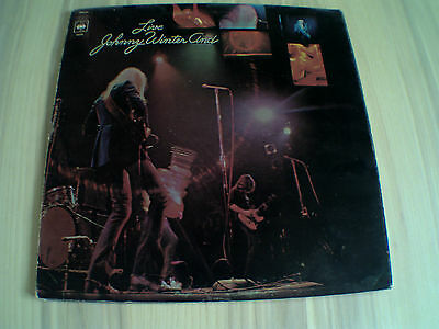 Johnny Winter And -Live   CBS 64289     1971